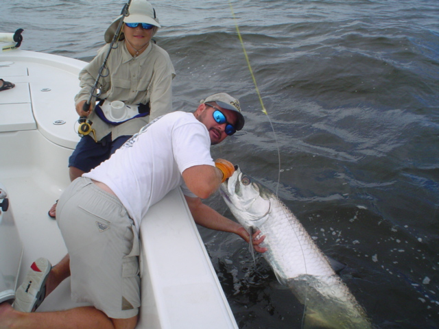 Double header on Tarpon near Boca Grande Pass