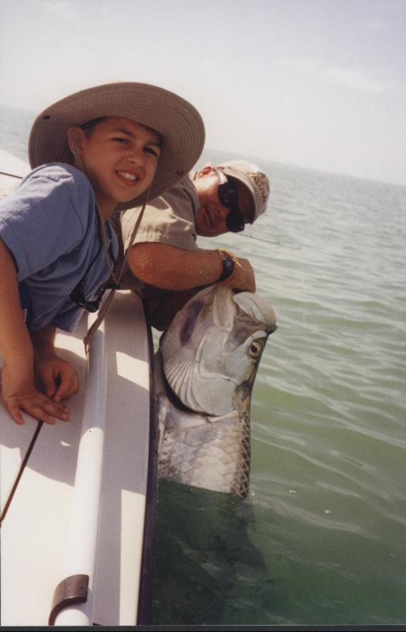 trophy tarpon fishing guide in Marco Island, Fort Myers and Boca Grande