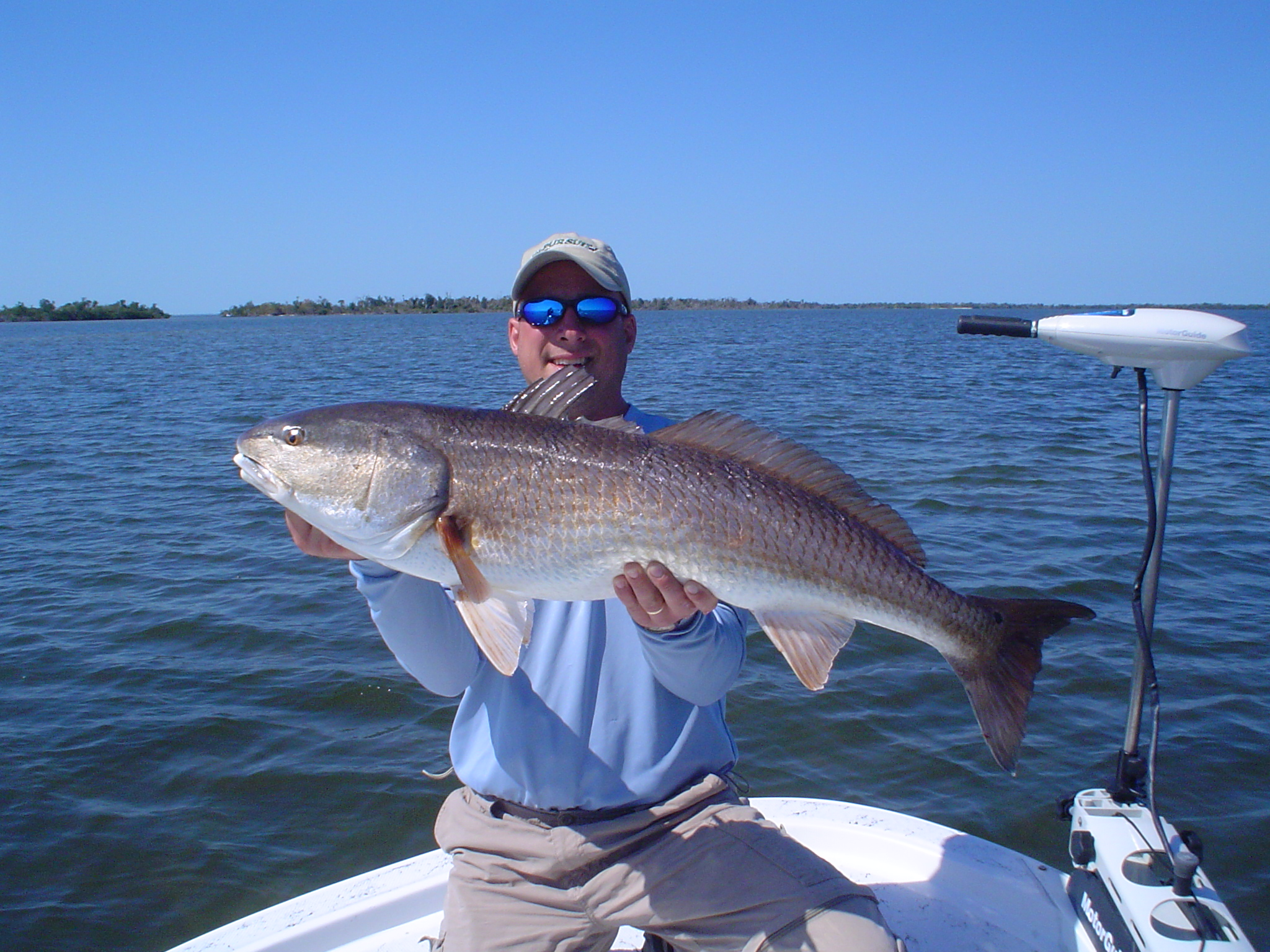 Flats fishing for redfish in Charlotte Harbor